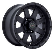 Outrage - Satin BLK - 17 x 9